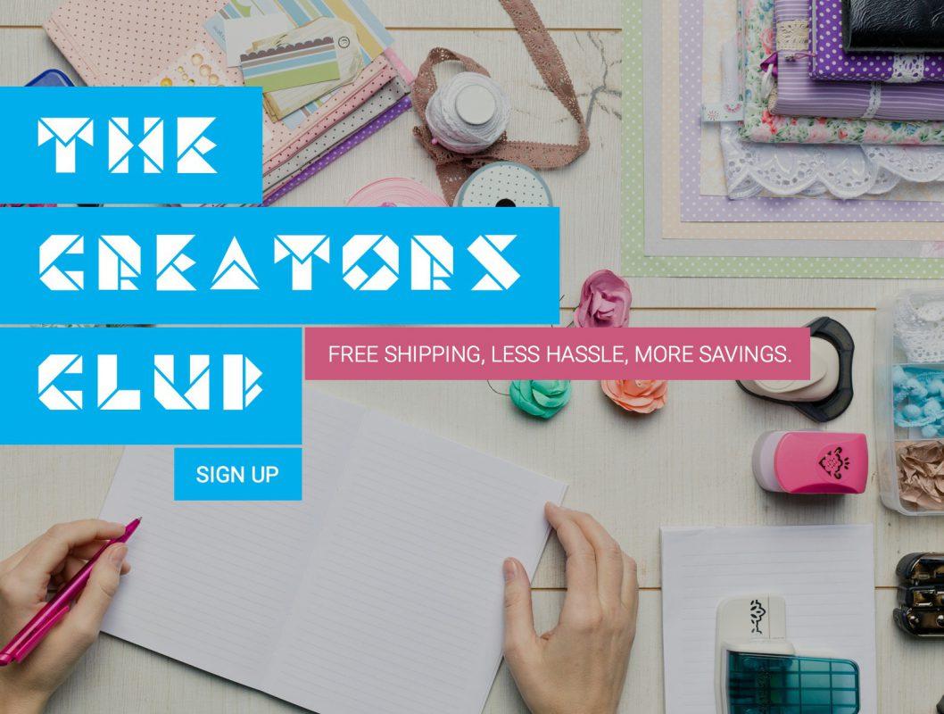 Tape Depot® Creators Club banner